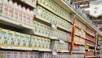 Supermercados, protagonistas del negocio lechero