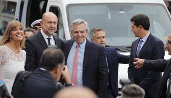 """Fernández anunció que buscarán que la Hidrovía sea gobernada por """"las provincias que la usan"""""""