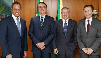 Scioli fue oficializado como embajador en Brasil y deberá acercar posiciones entre los dos países