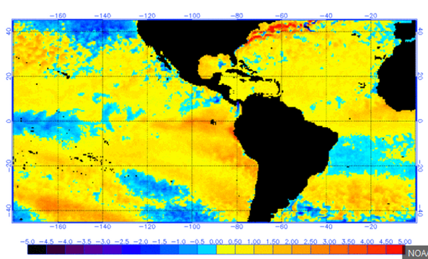 """Todavía las chances de que se instale """"El Niño"""" no son altas."""
