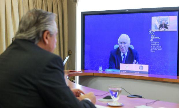 Acuerdo: Fernández se reunió con su par de Portugal para analizar la relación entre el Mercosur y la Unión Europea