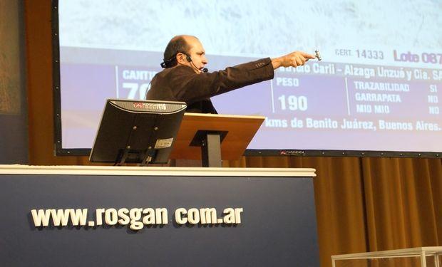 El Rosgan lanzó un forward ganadero