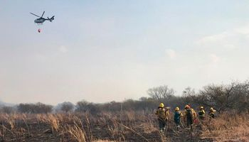Continúan los incendios en las islas del Paraná y el humo llegó a Buenos Aires