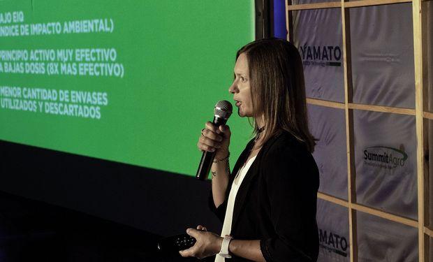 Mara Paván, Gerente de Investigación y Desarrollo de Summit Agro.