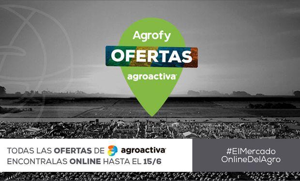 Hasta el 15 de junio encontrá las mejores ofertas en Agroactiva online.