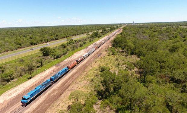 La empresa Trenes Argentinos Cargas  transportó 438.453 toneladas, un 53% más que el mismo mes de 2017.