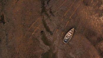 Rio Paraná: las impactantes imágenes de la mayor sequía en 77 años