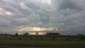 """Las lluvias débiles despedirán al """"veranito"""""""