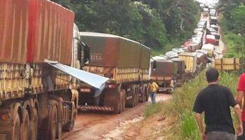 Brasil terminará de pavimentar una ruta clave para el transporte de granos