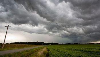 Alerta por tormentas fuertes para la zona centro y oeste del país