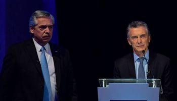 Los cruces entre Macri y Alberto por la economía marcaron el primer debate presidencial