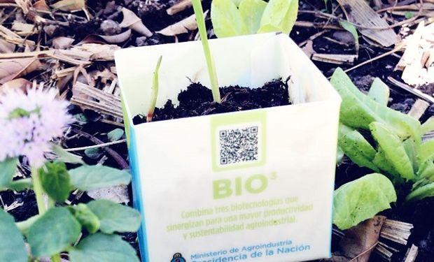 Sello Bioproducto Argentino.