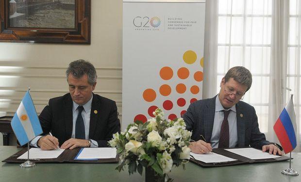 Lo más relevante de la reunión fue la firma del Memorando de Cooperación en materia de Biotecnología y Bioseguridad.