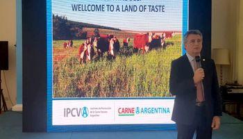Etchevehere promociona alimentos argentinos en China