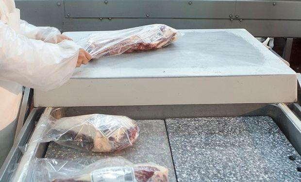 Exportación de carne brasilera a China.