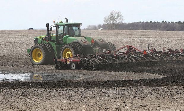 El USDA actualizó el Estado de Cultivos en Estados Unidos.