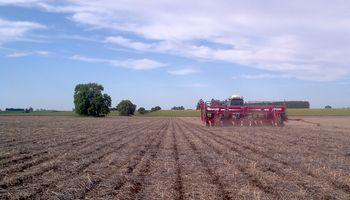 Santa Fe: comenzó la siembra de la soja bajo condiciones óptimas