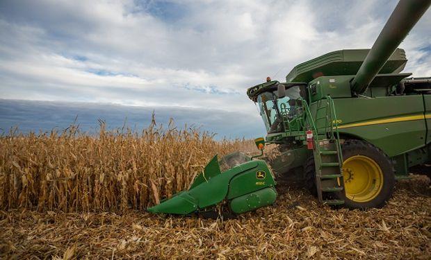 Cosecha de maíz: se espera que las actividades tomen impulso las próximas semanas.
