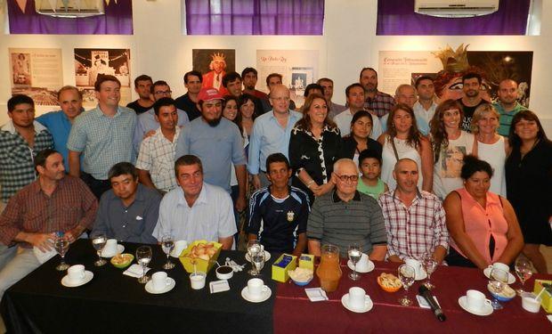 Participaron la intendenta local,  el secretario de Desarrollo Territorial y Economía Social y el presidente de la Agencia para el Desarrollo Región Rosario (Ader).