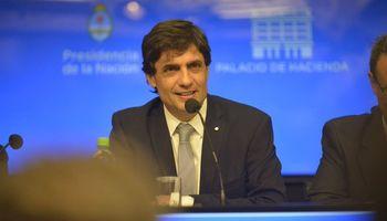 Lacunza defendió el nivel actual del tipo de cambio y remarcó el objetivo de estabilizarlo
