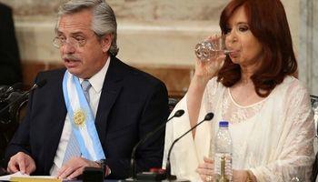 Fernández dio su primer discurso con foco en la producción