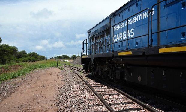 Trenes Argentinos transportó más de 1,5 millones de toneladas de carga en 2020