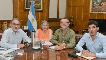 Basterra acordó con Santa Fe líneas de acción para el sector agropecuario