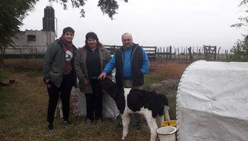 """El sostén del """"Cambio Rural"""" para el tambo"""