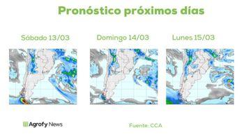 Lluvias: recién a partir de la segunda quincena de marzo podría aparecer un alivio