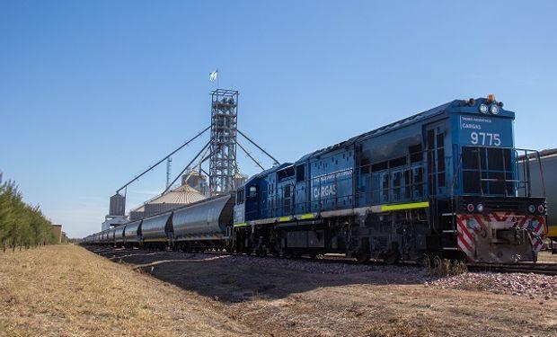 Trenes: crecen las toneladas que se transportaron en agosto y destacan la participación de los granos
