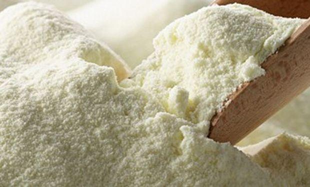 Alza en exportación de leche en polvo