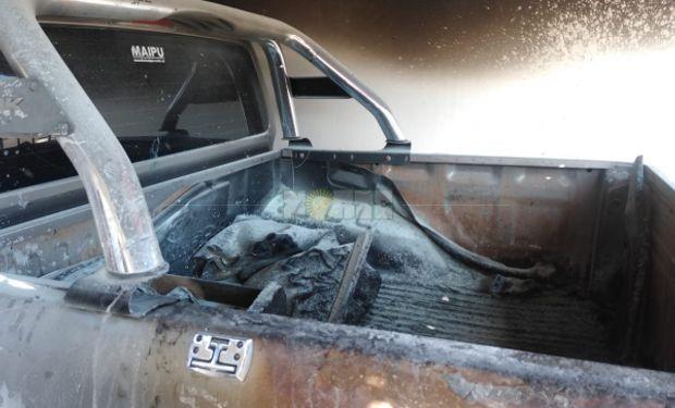 Un dirigente rural del norte recibió un ataque en su camioneta.