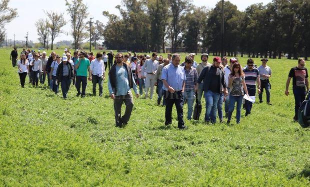 """""""El INTA tiene el foco puesto en el territorio"""", destacó Alejandro Longo."""