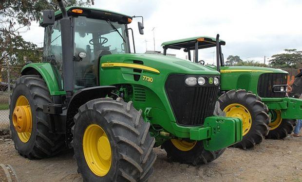 Récord de venta de maquinaria agrícola