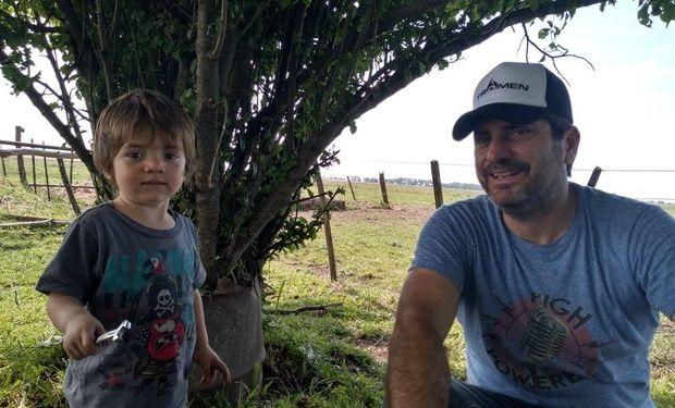 Pedro Cantori es contratista rural, pero su vocación es educar.