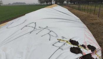 El gremio de los trabajadores rurales desmintió las versiones que los involucra en la rotura de silo bolsas