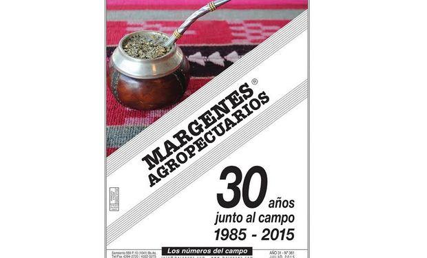 Márgenes Agropecuarios es una revista de periodicidad mensual con neta orientación agroeconómica.