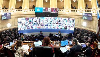 Senadores y diputados en sesión virtual: beneficios para personal de salud y DNU fueron los principales temas