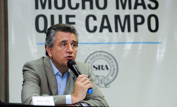 Luis Miguel Etchevehere, presidente de SRA