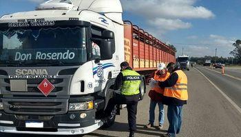 Nación dispuso un certificado para la libre circulación del transporte de cargas