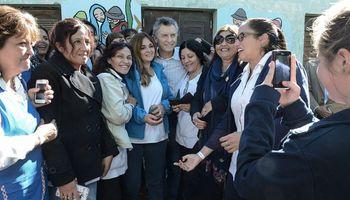 Macri se reunió con las familias afectadas por las inundaciones en Tucumán
