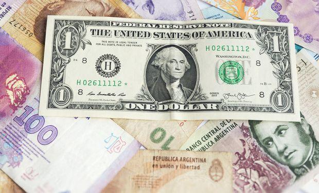 Cae el dólar.