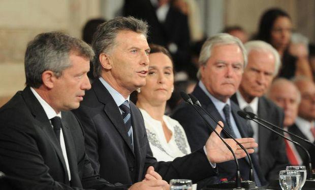 """""""Los argentinos estamos haciendo cambios de fondo para no volver atrás nunca más"""", destacó Macri en el Congreso."""