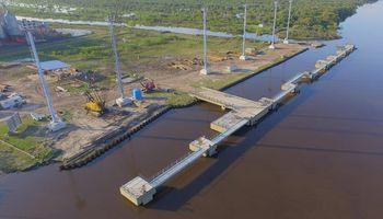 Otorgarán financiamiento millonario para facilitar el acceso a un puerto de Chaco