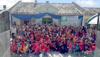 """Una """"guardería"""" en cosecha: más 300 hijos de trabajadores rurales recibieron contención en Salta"""