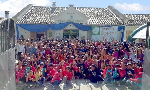 El Renatre brindó contención a más de 300 hijos de trabajadores rurales en los Centros Crecer de Salta.