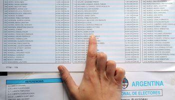 Padrón electoral para las PASO 2021: consultá dónde voto