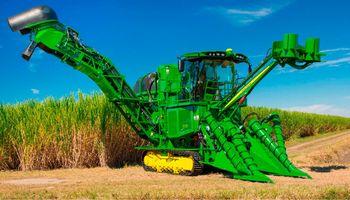 John Deere presentó un concepto sin precedentes para cosechadoras de caña de azúcar