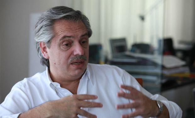 Fernández se refirió al tema Vicentin.