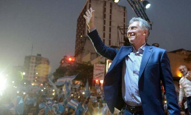 Macri realizó un acto en San Miguel de Tucumán.